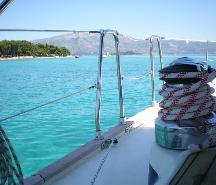 Sailing boat Korcula