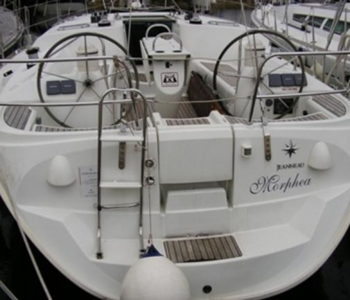 Sailing boat Sun Odyssey Croatia yacht