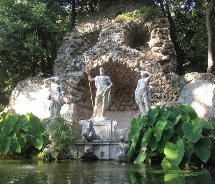 trsteno neptunova fontana jedrenje