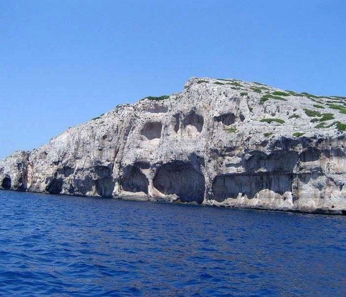Kornati cliff