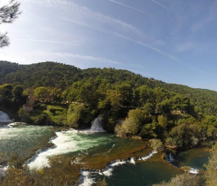 krka waterfalls plateaus