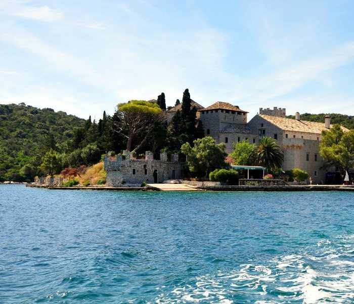 Monastry on Mljet